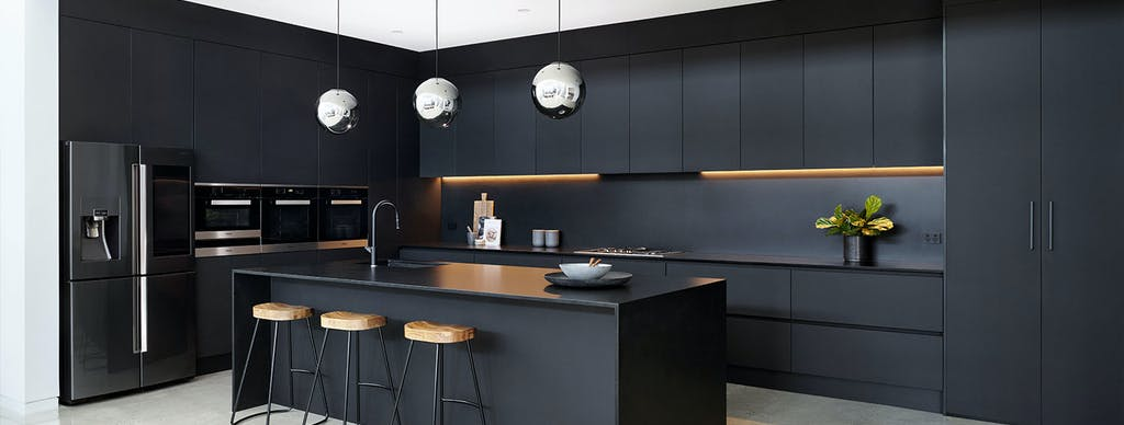 Black beauty: A bold kitchen with Silestone® Negro Tebas by Vicello Kitchens