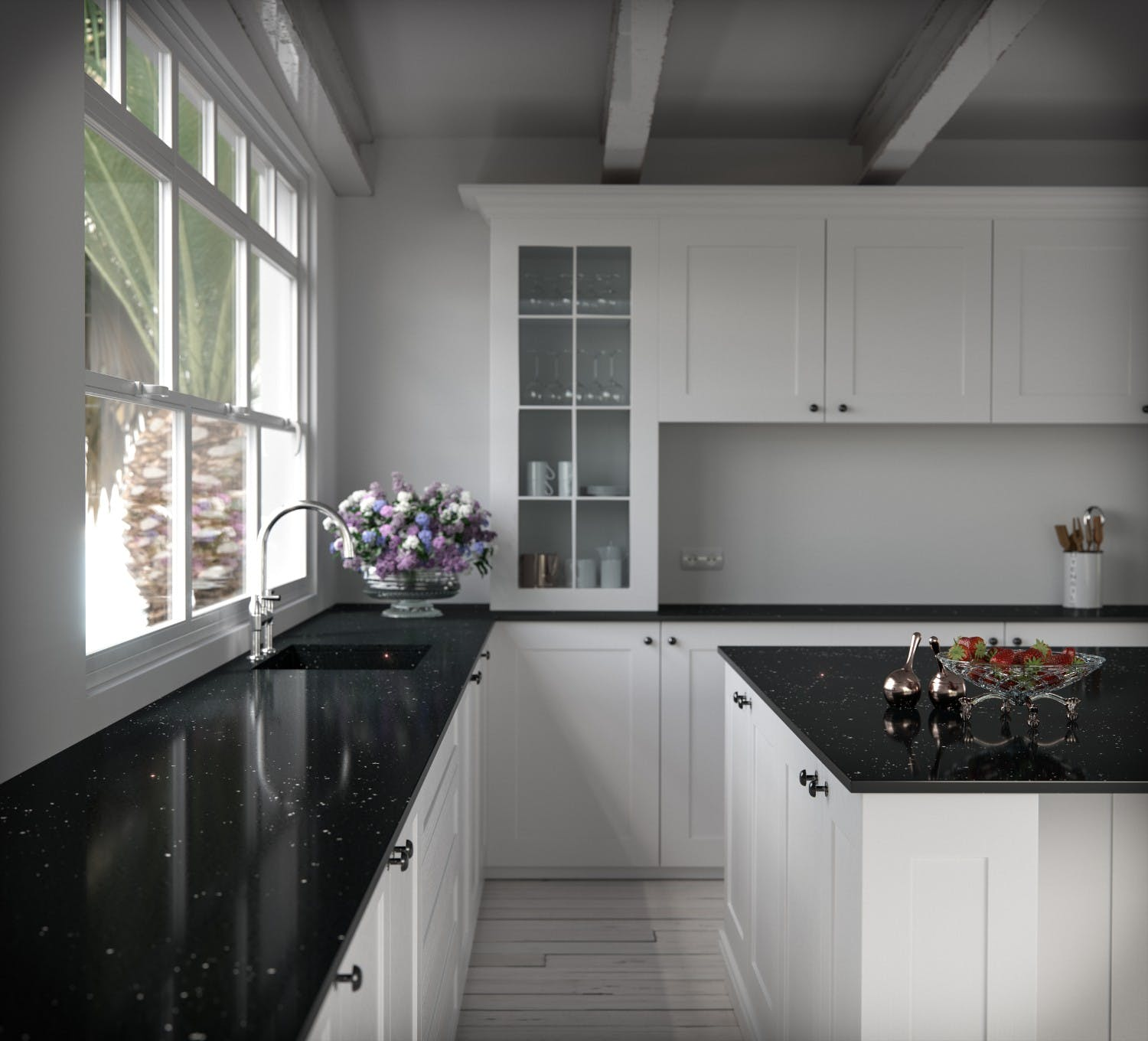 Cuisine Blanc Et Marron: Black And White Kitchens: A Winning Combination